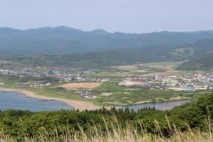 勝山城からの眺め