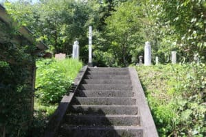 阿蘇惟豊の墓