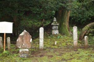 北条三氏の墓