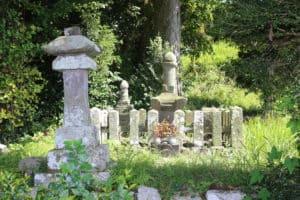 阿蘇惟種の墓