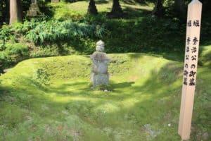 堀秀治の墓