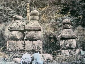 曽我兄弟と虎御前の五輪塔